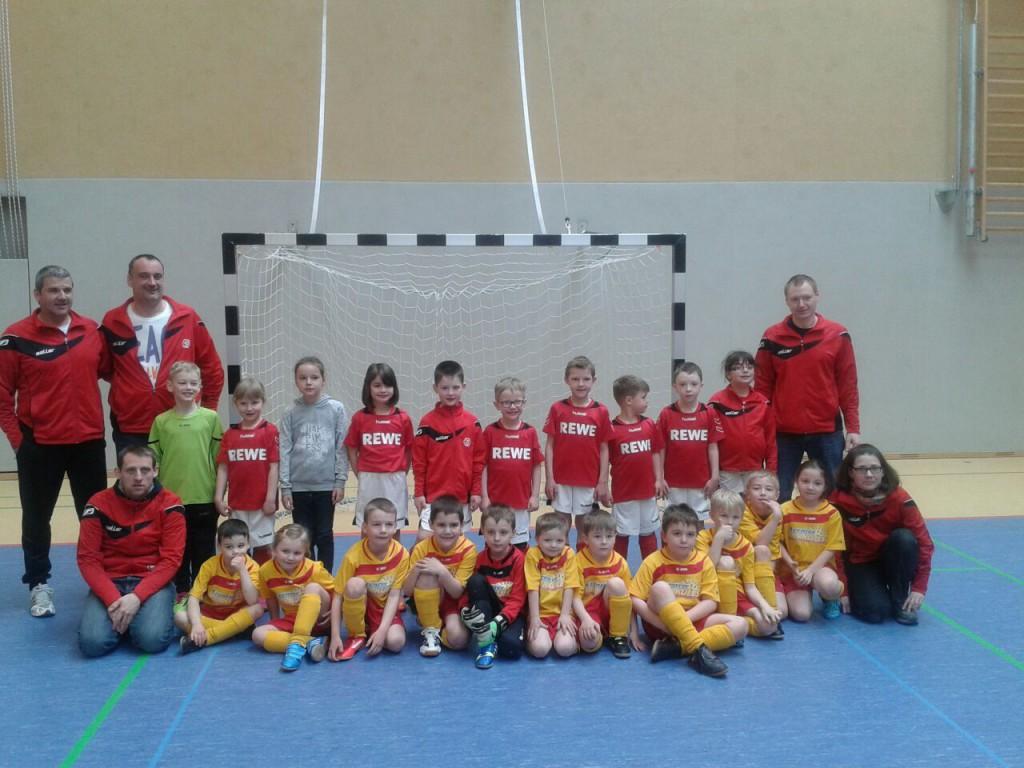 G-Jugend JSG Vogelsberg I+II - Ostercup 2015