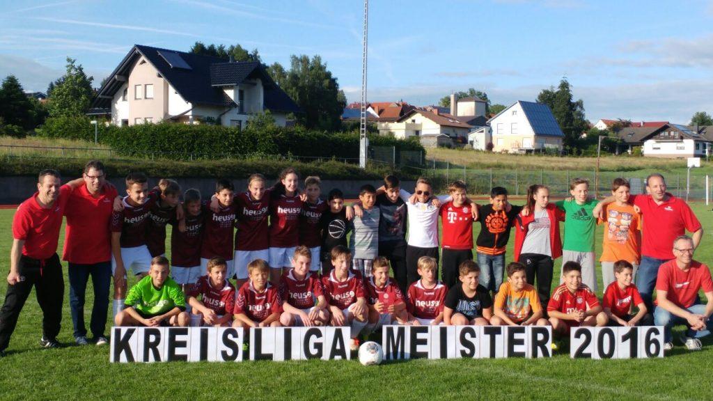 D-Jugend Kreismeister 2015/2016 Kreis Lauterbach/Hünfeld